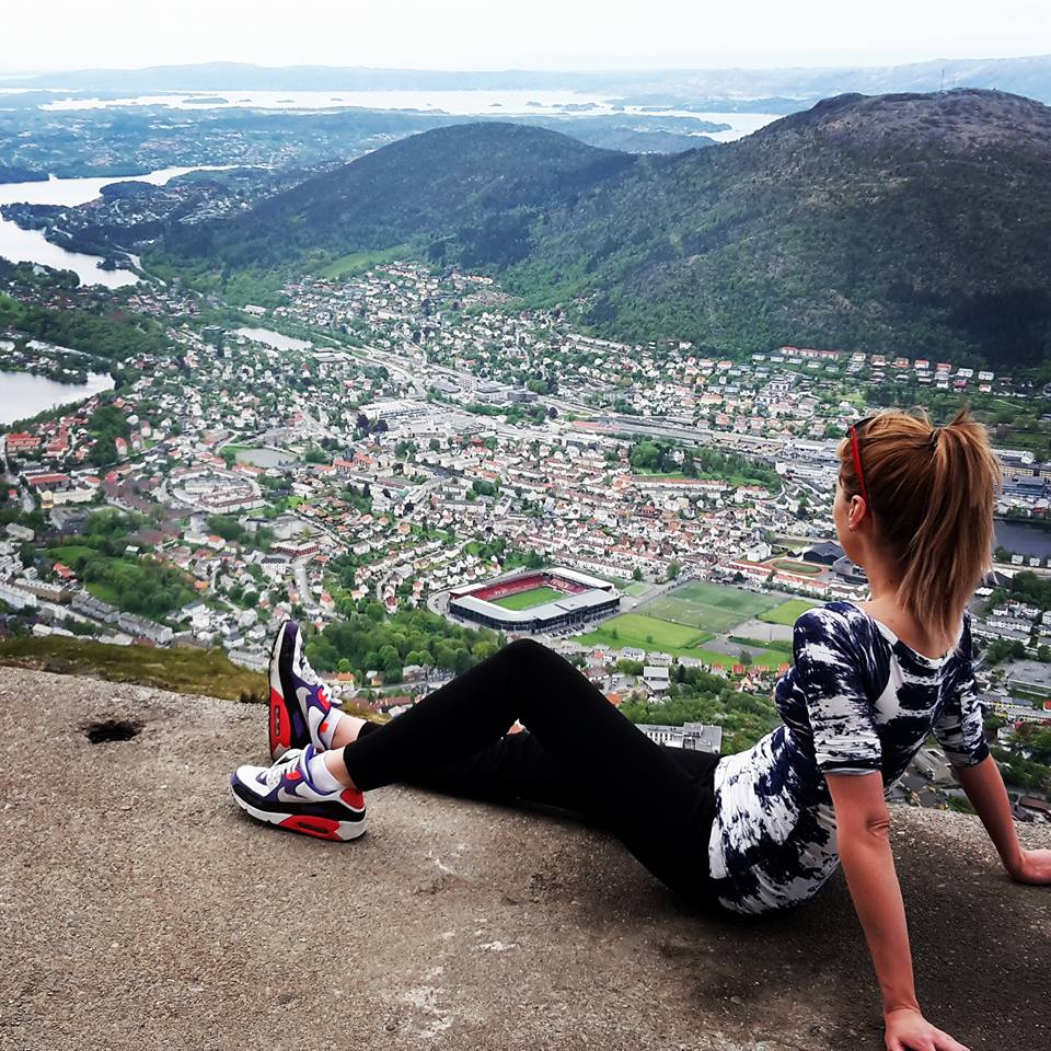 mount ulriken climbing norway
