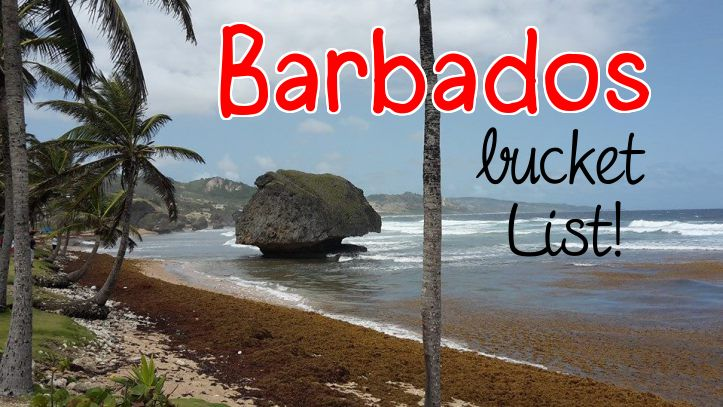 barbados bathsheba bucket list top 5
