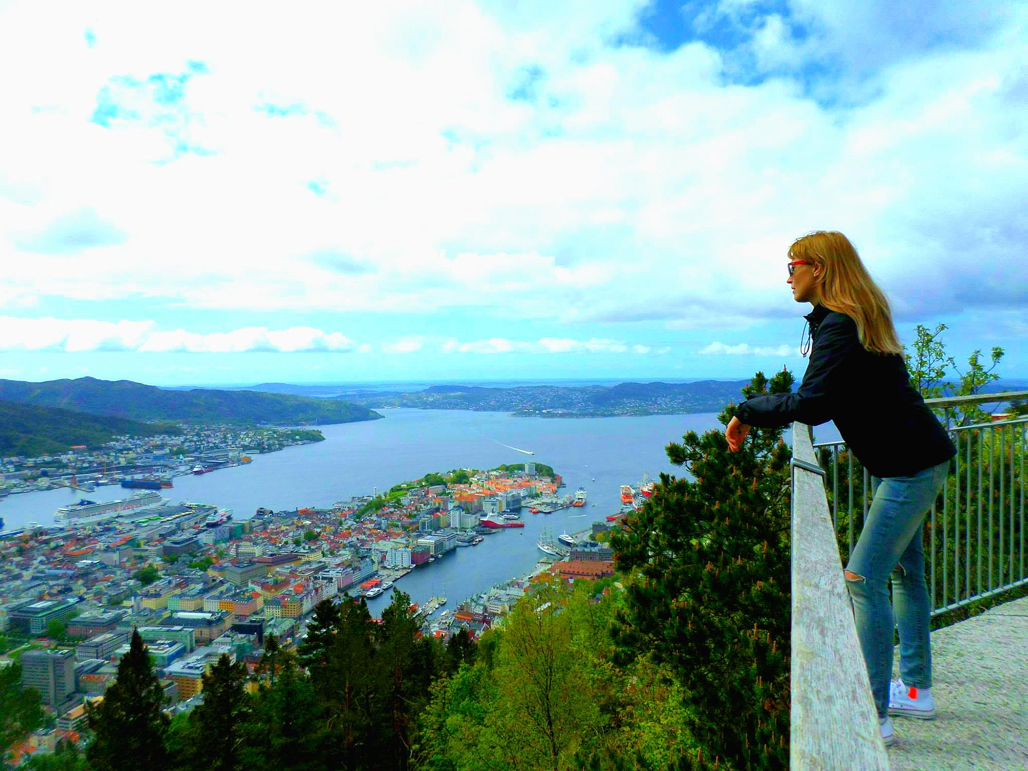 Bergen Norway viewpoint